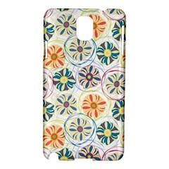 Flower Rainbow Fan Sunflower Circle Sexy Samsung Galaxy Note 3 N9005 Hardshell Case