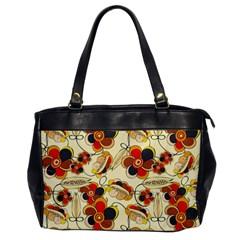 Flower Seed Rainbow Rose Office Handbags