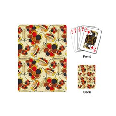 Flower Seed Rainbow Rose Playing Cards (mini)