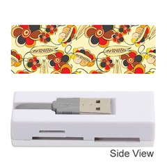 Flower Seed Rainbow Rose Memory Card Reader (stick)