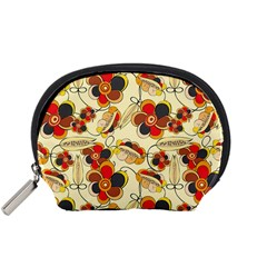 Flower Seed Rainbow Rose Accessory Pouches (small)