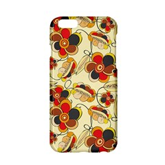 Flower Seed Rainbow Rose Apple Iphone 6/6s Hardshell Case