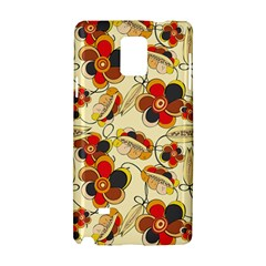 Flower Seed Rainbow Rose Samsung Galaxy Note 4 Hardshell Case