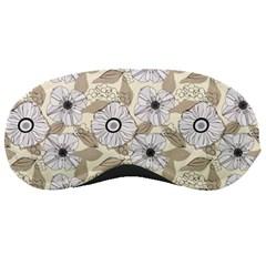 Flower Rose Sunflower Gray Star Sleeping Masks