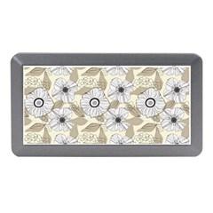 Flower Rose Sunflower Gray Star Memory Card Reader (mini)