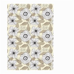 Flower Rose Sunflower Gray Star Small Garden Flag (two Sides)