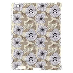 Flower Rose Sunflower Gray Star Apple Ipad 3/4 Hardshell Case (compatible With Smart Cover)