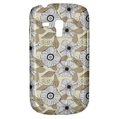 Flower Rose Sunflower Gray Star Galaxy S3 Mini