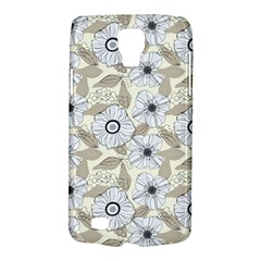 Flower Rose Sunflower Gray Star Galaxy S4 Active