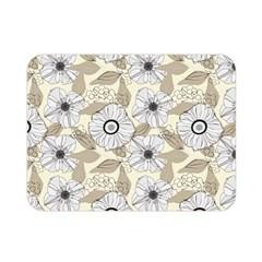 Flower Rose Sunflower Gray Star Double Sided Flano Blanket (mini)