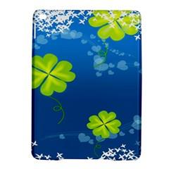 Flower Shamrock Green Blue Sexy Ipad Air 2 Hardshell Cases