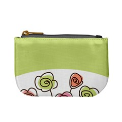 Flower Simple Green Rose Sunflower Sexy Mini Coin Purses