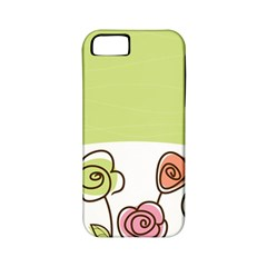 Flower Simple Green Rose Sunflower Sexy Apple Iphone 5 Classic Hardshell Case (pc+silicone)