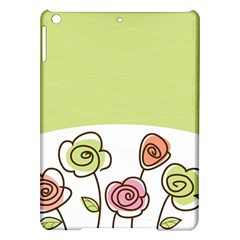 Flower Simple Green Rose Sunflower Sexy Ipad Air Hardshell Cases