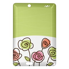 Flower Simple Green Rose Sunflower Sexy Amazon Kindle Fire Hd (2013) Hardshell Case
