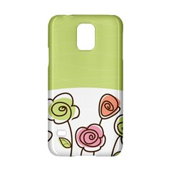Flower Simple Green Rose Sunflower Sexy Samsung Galaxy S5 Hardshell Case