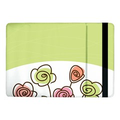 Flower Simple Green Rose Sunflower Sexy Samsung Galaxy Tab Pro 10 1  Flip Case