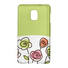 Flower Simple Green Rose Sunflower Sexy Galaxy Note Edge