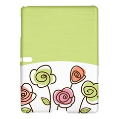 Flower Simple Green Rose Sunflower Sexy Samsung Galaxy Tab S (10 5 ) Hardshell Case