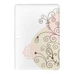 Flower Simple Pink Samsung Galaxy Tab Pro 10 1 Hardshell Case