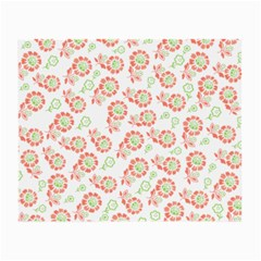 Flower Rose Red Green Sunflower Star Small Glasses Cloth