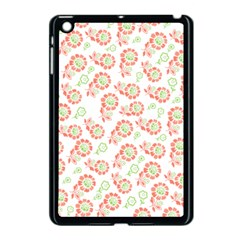 Flower Rose Red Green Sunflower Star Apple Ipad Mini Case (black)