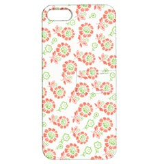 Flower Rose Red Green Sunflower Star Apple Iphone 5 Hardshell Case With Stand