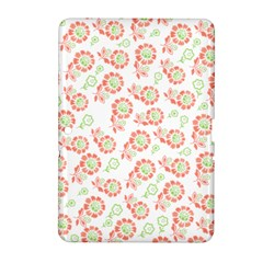 Flower Rose Red Green Sunflower Star Samsung Galaxy Tab 2 (10 1 ) P5100 Hardshell Case