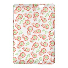 Flower Rose Red Green Sunflower Star Kindle Fire Hdx 8 9  Hardshell Case