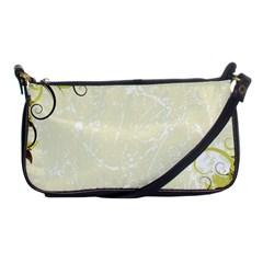 Flower Star Floral Green Camuflage Leaf Frame Shoulder Clutch Bags
