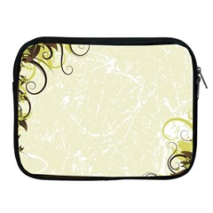 Flower Star Floral Green Camuflage Leaf Frame Apple Ipad 2/3/4 Zipper Cases