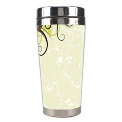 Flower Star Floral Green Camuflage Leaf Frame Stainless Steel Travel Tumblers
