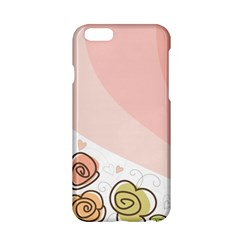 Flower Sunflower Wave Waves Pink Apple Iphone 6/6s Hardshell Case