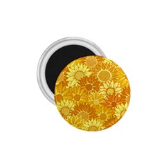 Flower Sunflower Floral Beauty Sexy 1 75  Magnets