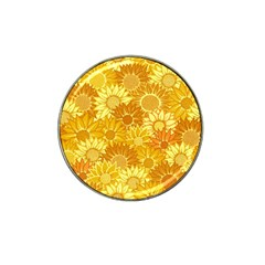 Flower Sunflower Floral Beauty Sexy Hat Clip Ball Marker (4 Pack)