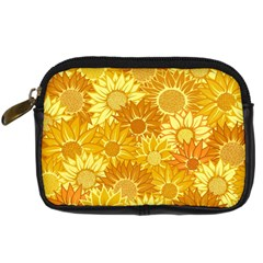 Flower Sunflower Floral Beauty Sexy Digital Camera Cases