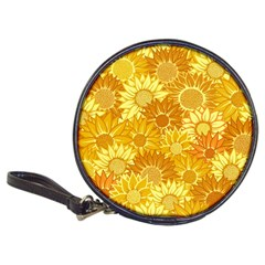 Flower Sunflower Floral Beauty Sexy Classic 20 Cd Wallets