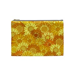 Flower Sunflower Floral Beauty Sexy Cosmetic Bag (medium)