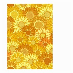 Flower Sunflower Floral Beauty Sexy Small Garden Flag (two Sides)