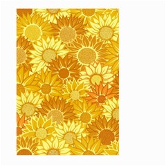 Flower Sunflower Floral Beauty Sexy Large Garden Flag (two Sides)