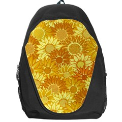 Flower Sunflower Floral Beauty Sexy Backpack Bag
