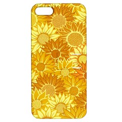 Flower Sunflower Floral Beauty Sexy Apple Iphone 5 Hardshell Case With Stand
