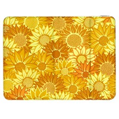 Flower Sunflower Floral Beauty Sexy Samsung Galaxy Tab 7  P1000 Flip Case