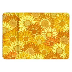 Flower Sunflower Floral Beauty Sexy Samsung Galaxy Tab 8 9  P7300 Flip Case
