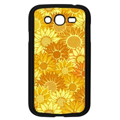 Flower Sunflower Floral Beauty Sexy Samsung Galaxy Grand Duos I9082 Case (black)