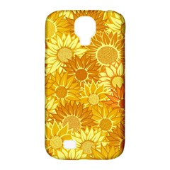 Flower Sunflower Floral Beauty Sexy Samsung Galaxy S4 Classic Hardshell Case (pc+silicone)