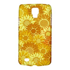 Flower Sunflower Floral Beauty Sexy Galaxy S4 Active