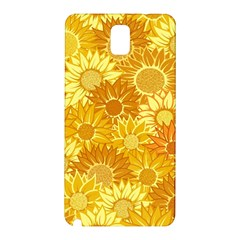 Flower Sunflower Floral Beauty Sexy Samsung Galaxy Note 3 N9005 Hardshell Back Case