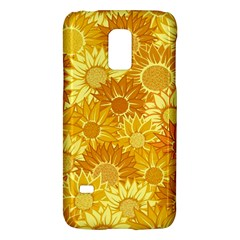 Flower Sunflower Floral Beauty Sexy Galaxy S5 Mini