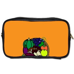 Healthy Vegetables Food Toiletries Bags 2 Side